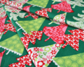 Michael Miller(マイケルミラー)Holiday Funky Christmas Calico Trees Multi