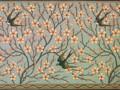 ウォルター・クレイン 「アーモンドの花とつばめ ~」 1878