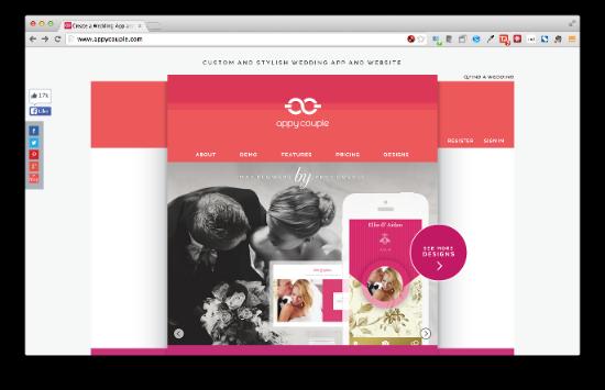 Appy Couple 特にウェディングアプリ/サイトの制作に特化したサービスです。晴れの日をアプリ/Webを使って盛り上げられるでしょう。