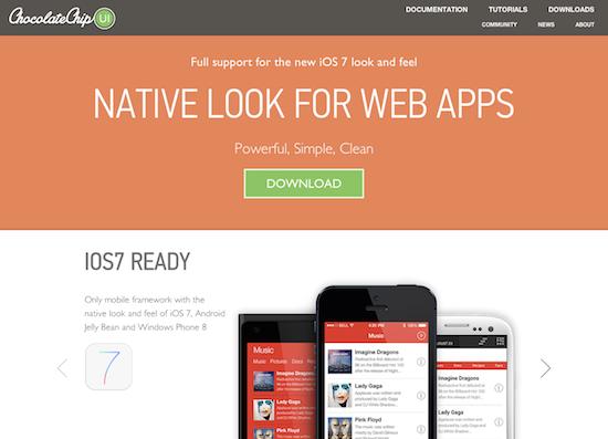 ChocolateChip-UI - A Mobile Web Framework in HTML5, CSS & Javascript