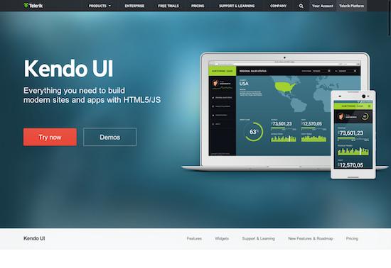 Kendo UI jQuery and HTML5 widgets