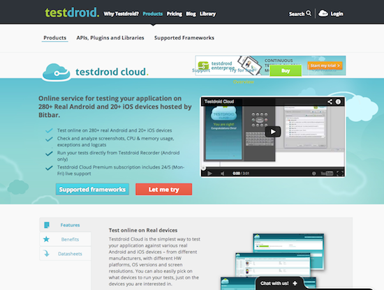 Testdroid Cloud