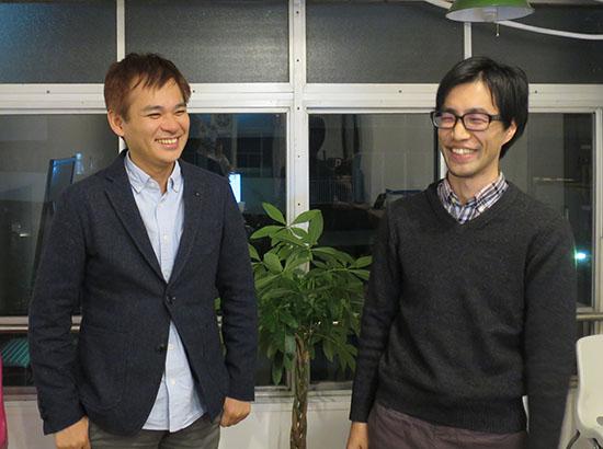山本さん(左)と大西さん(右)