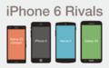 iPhone6 Rivals - Galaxy S5, Nexus5, Xperia Z3 compact