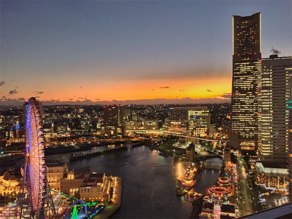 ヨコハマグランドインターコンチネンタルホテル シティビューの眺め