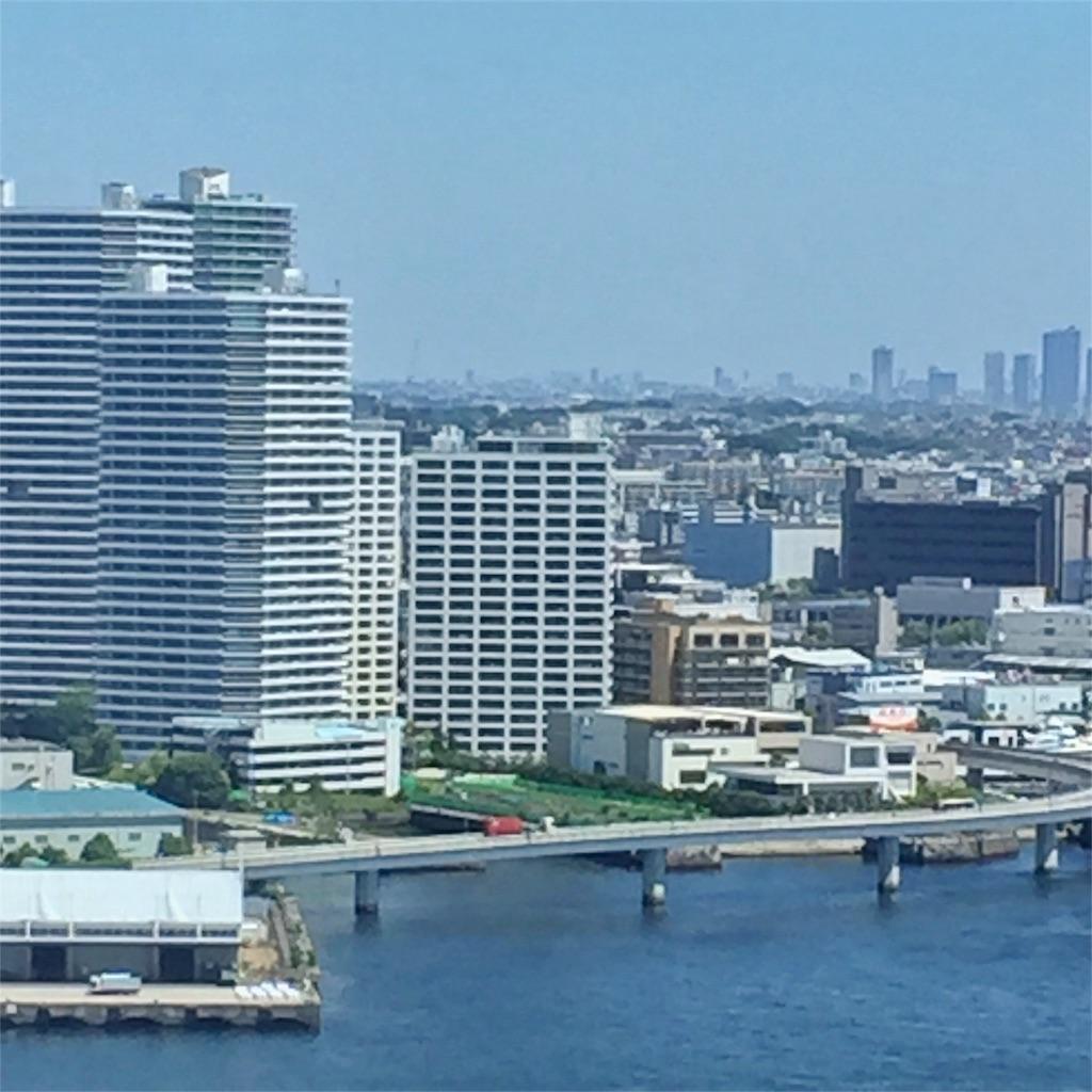 ヨコハマグランドインターコンチネンタルホテル ベイビューの眺め