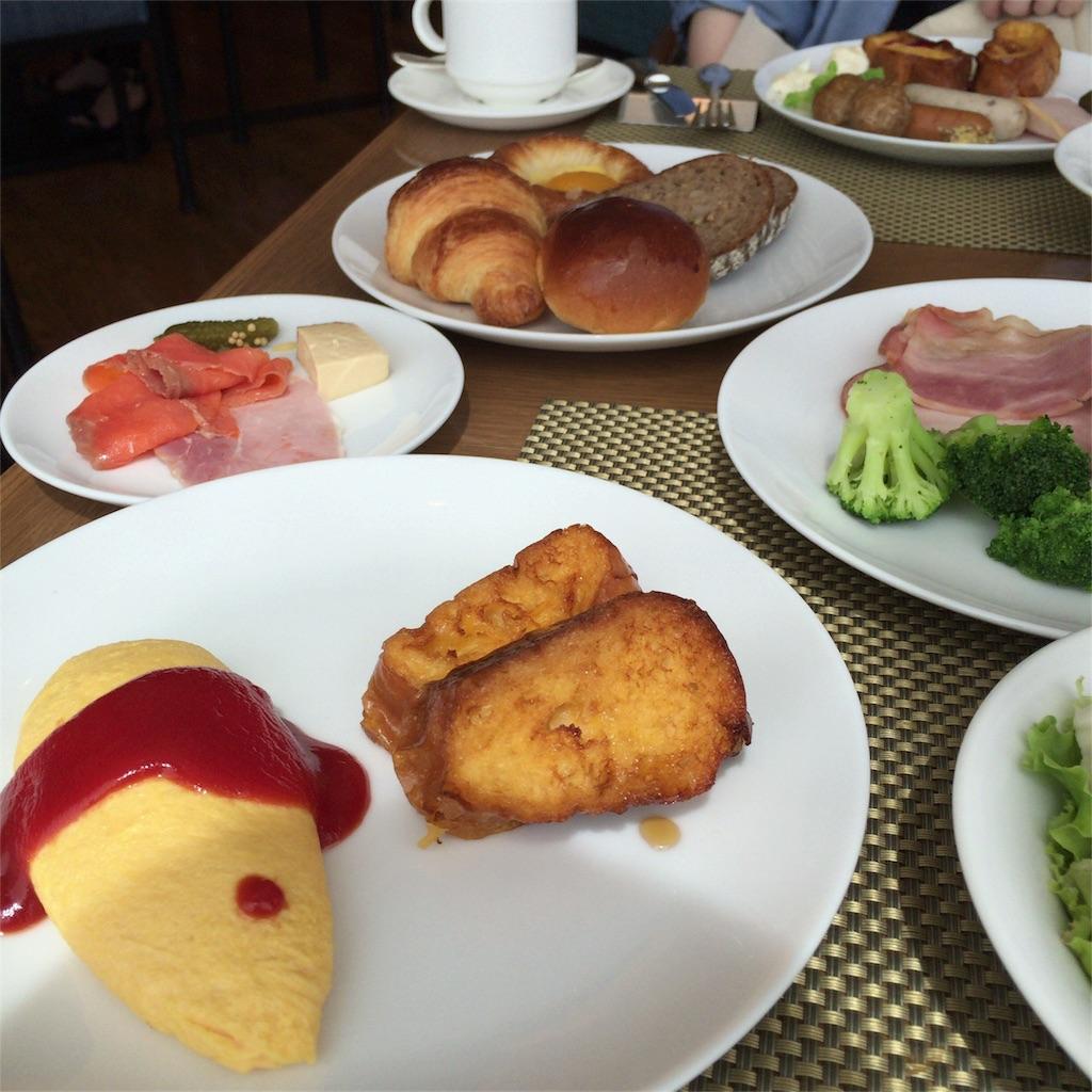 オーシャンテラスの朝食