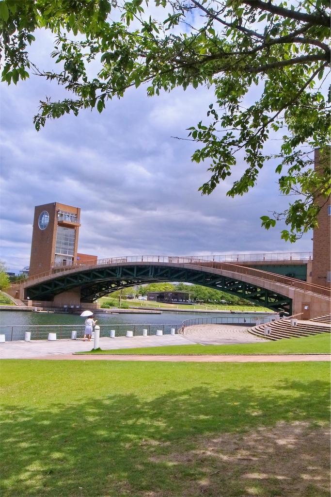 富山富岩運河公園 天門橋