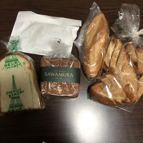 今回購入したパン