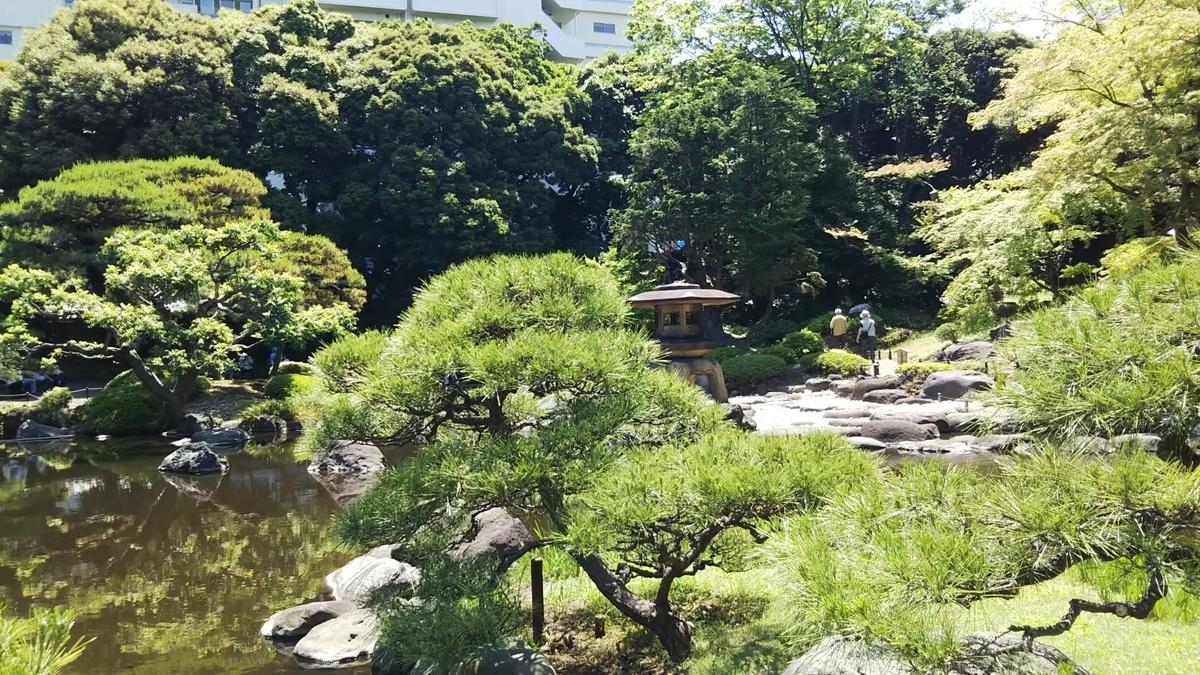 日本庭園も美しい