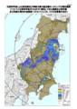 地表面への放射性セシウムの沈着量(東日本全体)