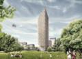 世界一高い木造の高層ビル(C)Dezeen