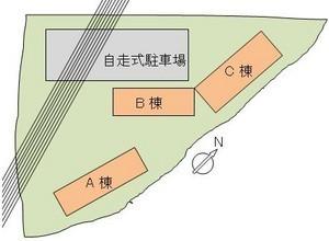 地役権が設定された敷地上空を高圧送電線が走るマンション