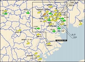 【東京圏地価】8割の地区が上昇