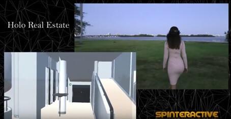 『マイクロソフト ホロレンズ』を活用した動画のスクリーンショット1