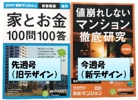 住宅情報誌SUUMOの表紙