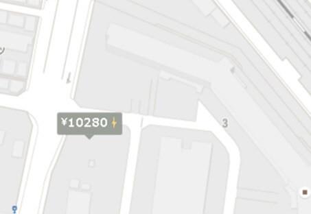 地図をドンドン拡大
