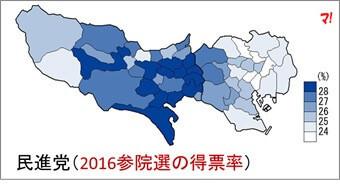 民進(2016参院選)