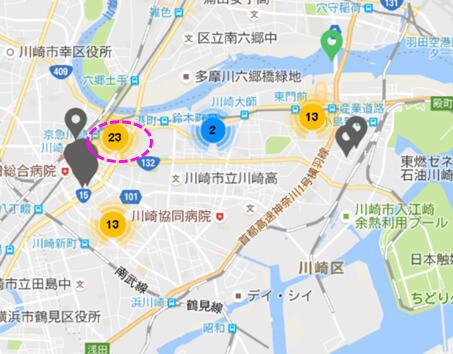 AirLABOに承諾を得てマップデータを掲載