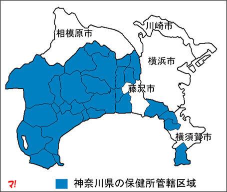 横浜市や川崎市などには県の民泊条例は適用されない