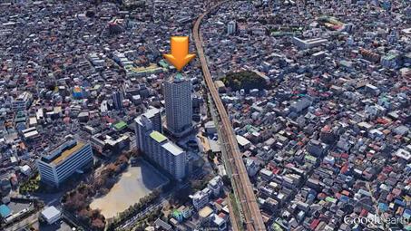 UR都市機構ジェイタワー西大井イーストタワー