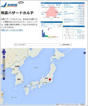地震ハザードカルテ(防災科学技術研究所)