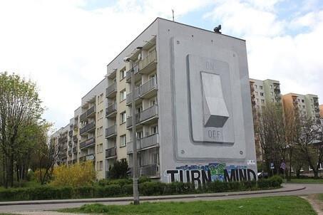Katowice mural On Off