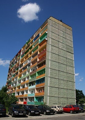 Rybnik tower block