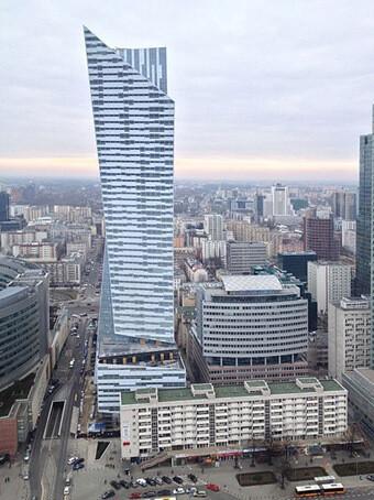 Libeskind's Złota 44 in Warsaw