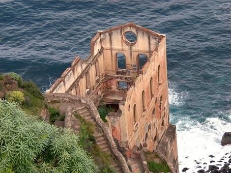 テネリフェ島(スペインのカナリア諸島)のお化け屋敷