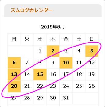 5の倍数日ごとに投稿し続ける三井さん以外のブロガーは夏休みなのか