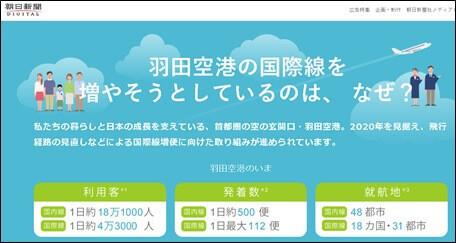 羽田空港の国際線を増やそうとしているのは、なぜ