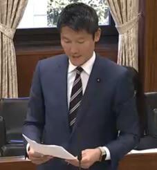 朝日健太郎 参議院議員