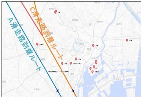 羽田新ルートと50階以上の超超高層計画
