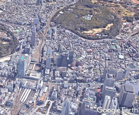 高度900m新宿駅周辺