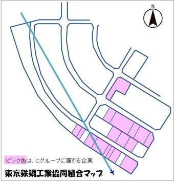 東京鉄鋼工業協同組合マップ