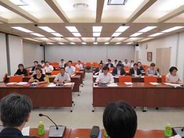 港区議会で羽田空港機能強化に係る学習会