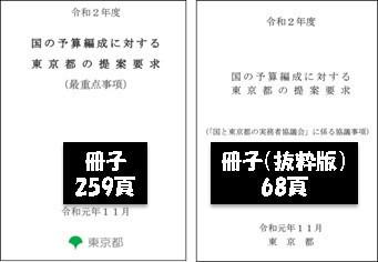 令和2年度 国の予算編成に対する東京都の提案要求