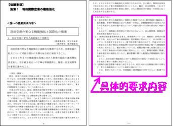 令和2年度 国の予算編成に対する東京都の提案要求(羽田国際空港の機能強化)