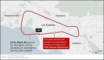 ロサンゼルスの事故