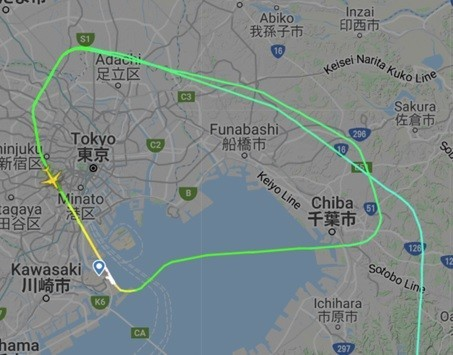 ゴーアラウンド(着陸やり直し)ANA636便