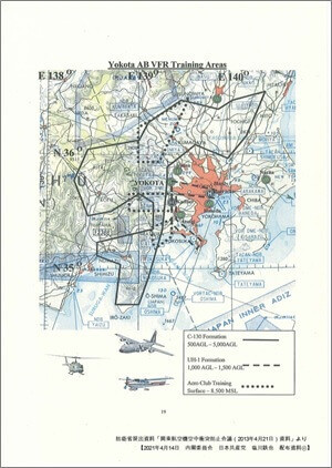 Yokota Air Base VFR Training areas