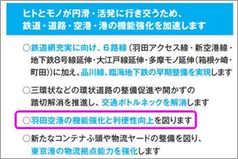 TOKYO自民党政策集2021年版