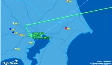 シカゴ発のユナイテッド航空機881便