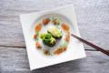 グレープフルーツ&アボカド寿司と菜の花寿司