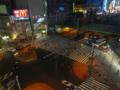 [新宿][夜景]居酒屋「嵯峨野」から眺める新宿大ガード西交差点
