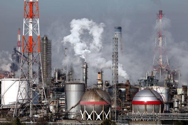 大気汚染。
