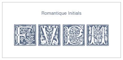 Romantique Initials