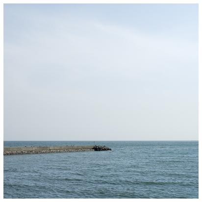 5月の海と空
