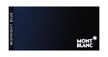 モンブラン ミッドナイトブルー